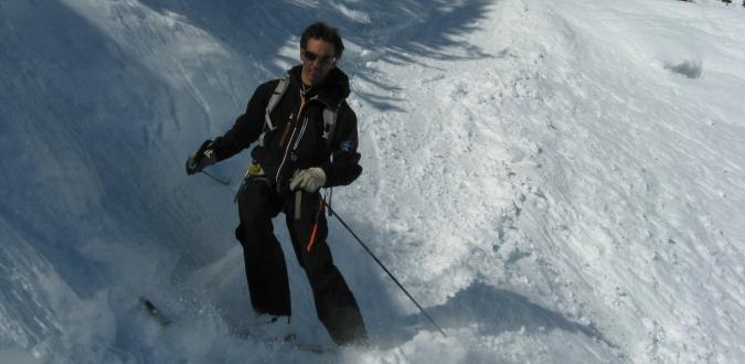 Mathieu, Pure Powder's go-to guide