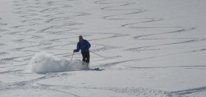 Off piste skiing in Europe - Zermatt