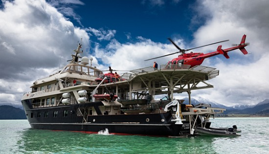 Heli Sking Chile - Patagonia, by Luxury Boat