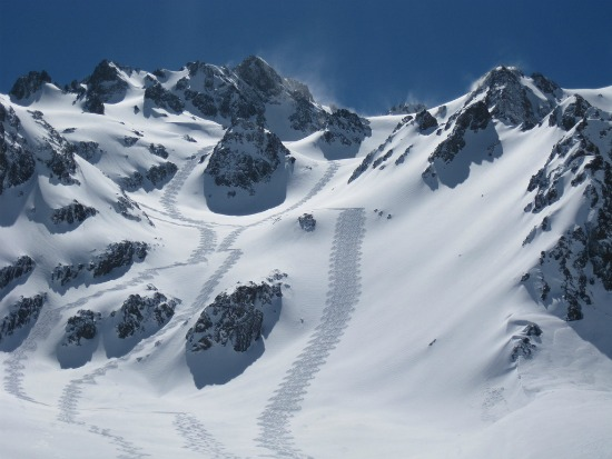 Heli Skiing Chile - The Maipo Valley