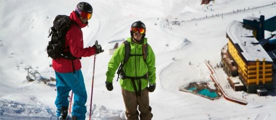 Skiing in Chile - Portillo