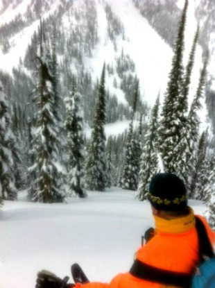 Great lines in Revelstoke