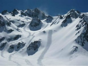 Champagne powder in Chile