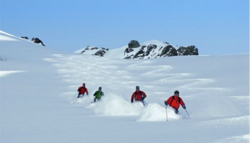Alpine skiing in Chile