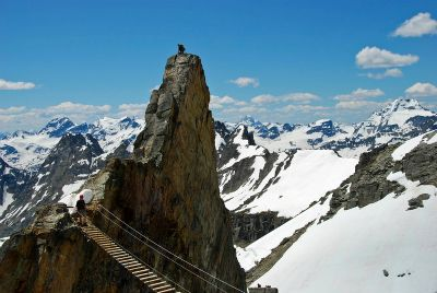 Via Ferrata route, Mount Nimbus