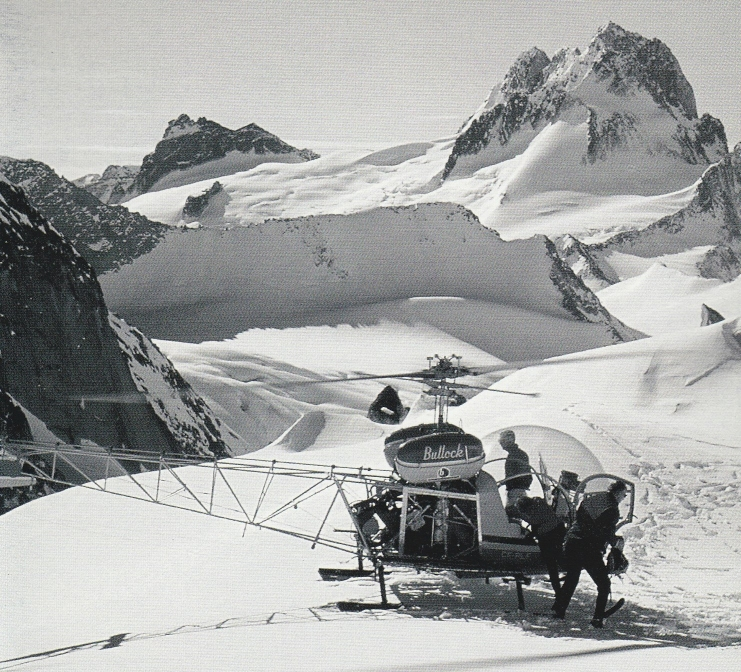 Original Heli Skiing in the Bugaboos