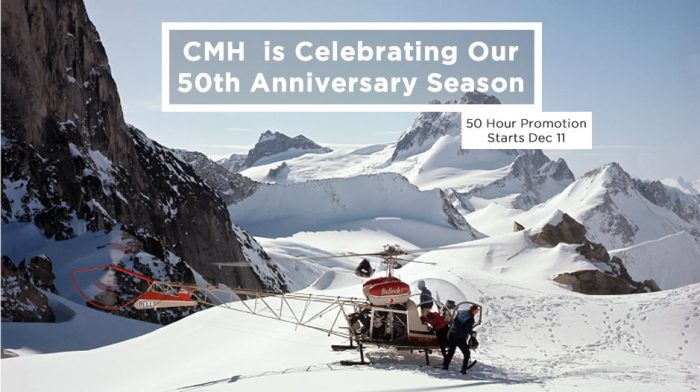 MH Heli Skiing 2015 Booking Promotion