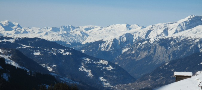 Off piste skiing Europe - Klosters peaks