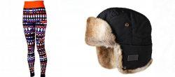 Sweaty Betty Baselayer and Barts Hat