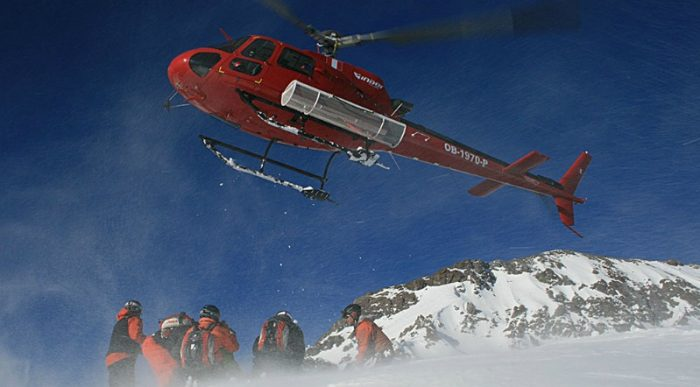 Heli skiing in Chile - summer fitness