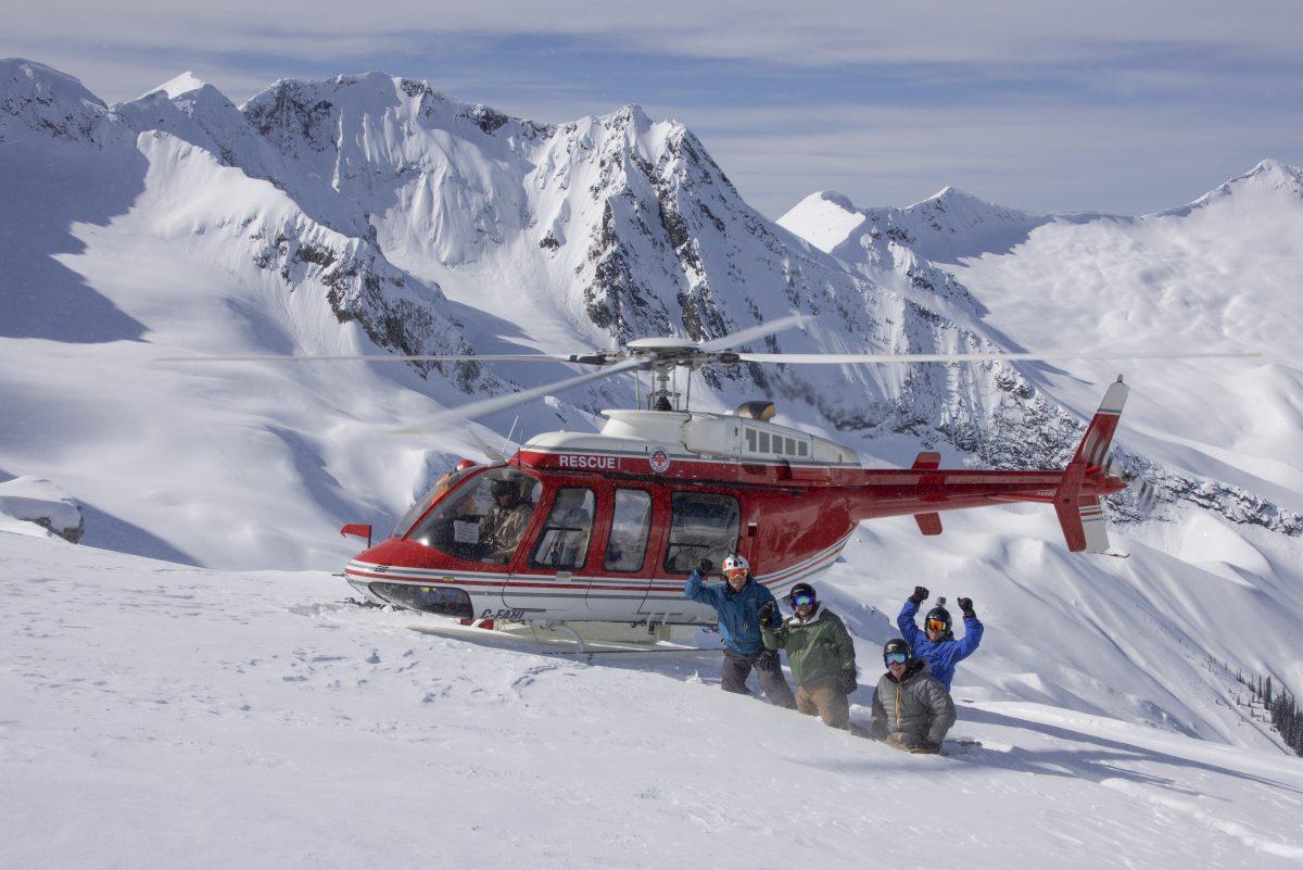Bell 407 With Group Craig Mcgee Purepowder Purepowder