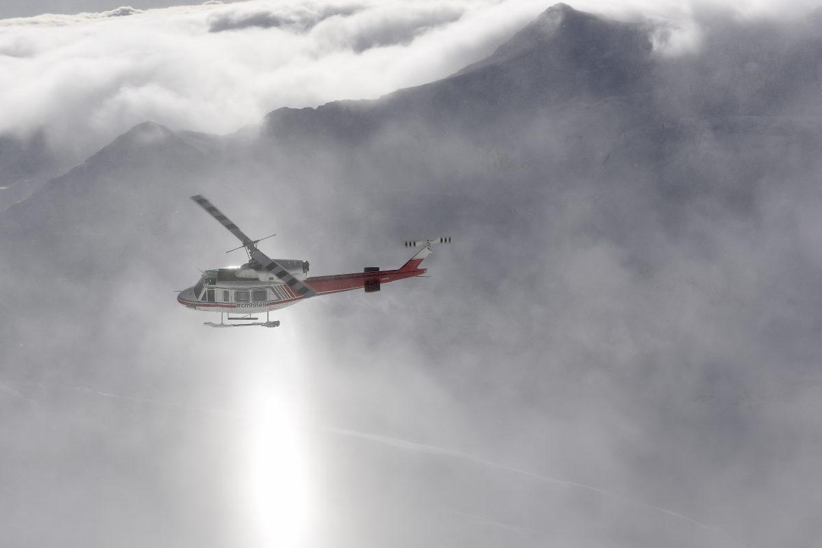 Bell 212 Above Clouds Danny Stoffel Purepowder Purepowder