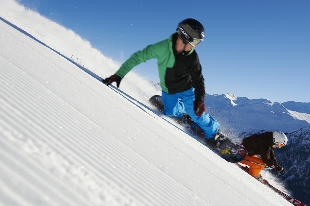 Blick 252 Ber Den Davosersee Nach Davos Purepowder Purepowder